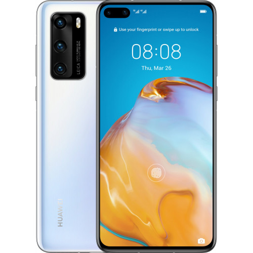 Huawei P40 8GB/128GB Dual SIM Ice White